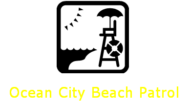 Ocean City Beach Patrol Link with Graphic