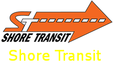Shore Transit logo with hyperlink